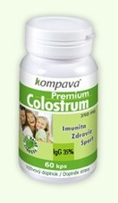 Premium Colostrum - 400mg/60 kps